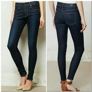 AG Farrah High Rise Skinny Ankle Dark Wash 32